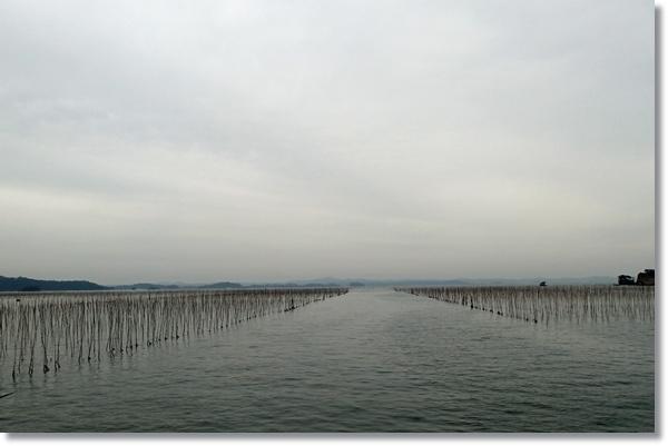 フェリーから見た松島湾