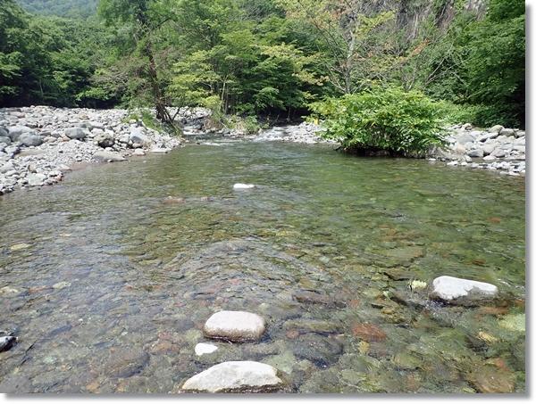 夏の蔵王澄川