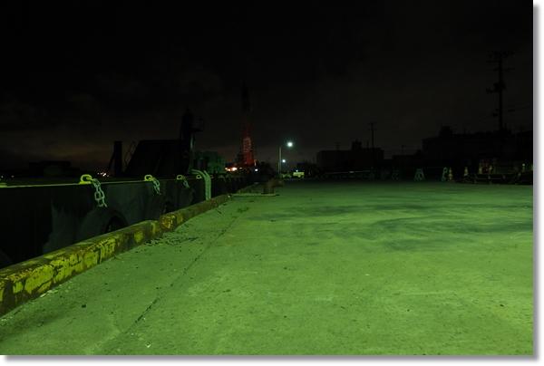夜の仙台港