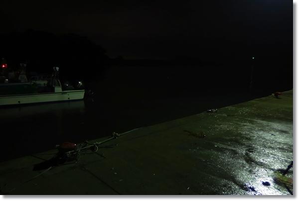 夜の奥松島M港