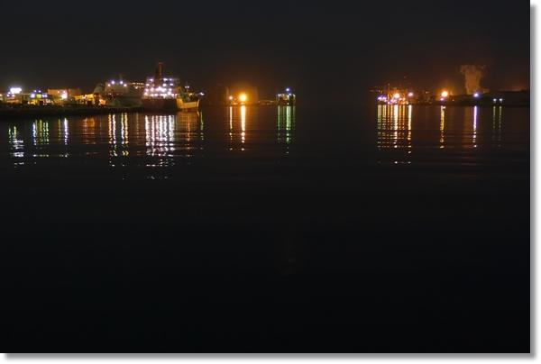 夜のスリーエム仙台港パーク