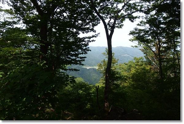 仙台市郊外の山の上からの景色