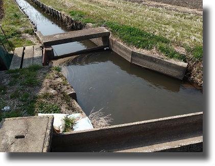 用水路にある水門