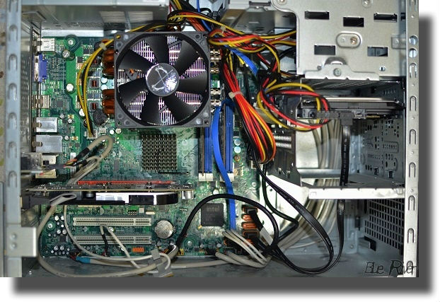 パソコンのPCケース内部
